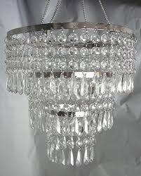 acrylic crystal hand hooked chandelier chandelier acrylic crystals