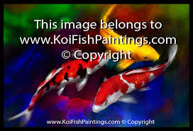 feng shui paintings for office. 3 Koi Fish Paintings Feng Shui For Office L