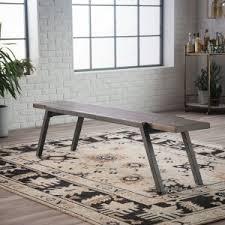 industrial style outdoor furniture. Belham Living Magnus Metal Frame Dining Bench Industrial Style Outdoor Furniture