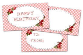 Birthday Tags Template 78 Free Printable Labels And Beautiful Tags Tip Junkie