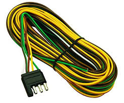 amazon com wesbar 707261 wishbone style trailer wiring harness with  wesbar 707261 wishbone style trailer wiring harness with 4 flat connector