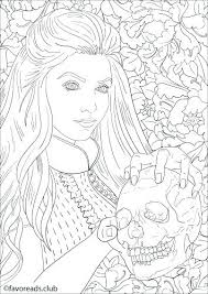 Coloring Pages Horror Coloring Pages Scary Zombie Be Horror