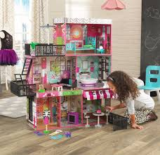 wooden barbie doll furniture. Barbie Size Dollhouse Furniture Girls Playhouse Dream Play Wooden Doll House NEW