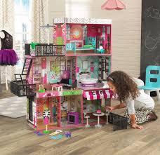 barbie dollhouse furniture cheap. Barbie Size Dollhouse Furniture Girls Playhouse Dream Play Wooden Doll House NEW Cheap