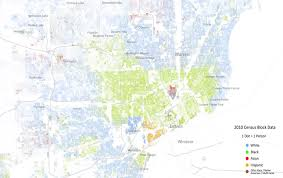 metro detroit's segregation on display in 'racial dot map' Â« cbs