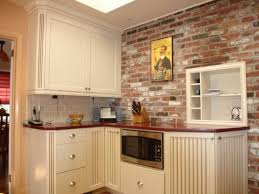 Kitchen Backsplashes Home Depot Exposed Brickwork Wallpaper Brick Backsplash Kitchen Brick