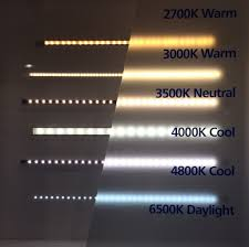 Warm Light Kelvin From Warm To Cool Led Lighting And Kelvin Ratings In 2020