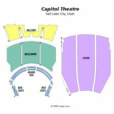 capitol theatre seating chart tickets