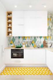 Splashback White Kitchen Kitchen Style White Kitchen Storage Yellow Green Splashback