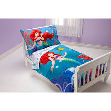 disney little mermaid ocean princess 4pc toddler bedding set com