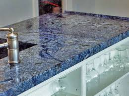 image of blue marble countertop ideas