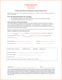 cc auth form 6 credit card authorization form authorization letter
