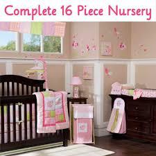 kids line mosaic garden 6 pc crib set