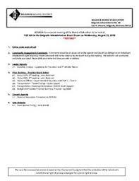 8-23-18 School Board Agenda – Belgrade School District