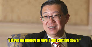 Image result for Lim Guan Eng (LGE) of using his position as finance minister to take away money from the Malays to give to the Chinese