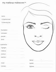 image image image mac makeup face charts templates makeup design se makeup template
