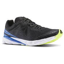 reebok mens shoes. reebok - harmony racer black / awesome blue white solar yellow bd4638 mens shoes o