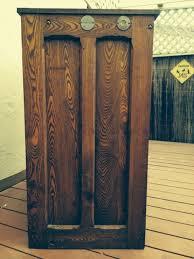 antique hamilton manufacturing printers cabinet
