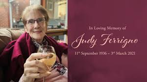 Funeral service for Judy Ferrigno on Vimeo
