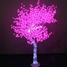 artificial led tree lamp for outdoor lighting light