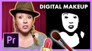 digital makeup retouching faces adobe premiere pro cc tutorial