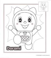 Fujio which later became an anime series and a the series is about an intelligent robot cat named doraemon who travels back in time from the 22nd. Free Printable Doraemon Coloring Page For Kids Coloring Pages For Kids On Coloring Forkids Com