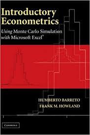 Introductory Econometrics Using Monte Carlo Simulation With