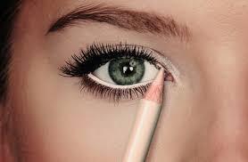 beige eye pencil