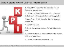 Define Team Leader Call Center Team Leader Kpi