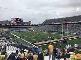 Wvu Stadium Seating Chart Mountaineer Field Section 132 Rateyourseats Com