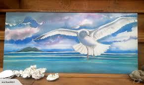 new zealand seagull outdoor wall art panel 50cm x 23cm on outdoor wall art new zealand with new zealand seagull outdoor wall art panel 50cm x 23cm trade me