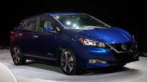 2018 nissan leaf interior.  2018 2018 nissan leaf packs more tech range and a straightforward new look throughout nissan leaf interior