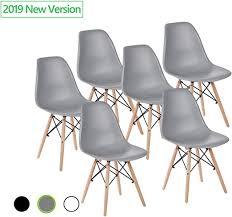 Mastery Mart <b>Dining Chairs</b> Set of <b>6</b>, <b>Modern</b> Mid Century Classic ...