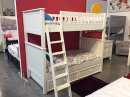Bunk Bed Campground Collection Twin Over Twin Bunk Bed In White Kids