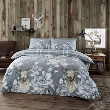 flannelette duvet cover bedding set matching pillowcases 100 brushed cotton