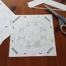 PAPER FORTUNE TELLER IDEAS FOR ADULTS  PaperFortune Teller Ideas