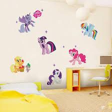 lovely pony wall sticker