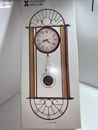 howard miller pendulum wall clock 625