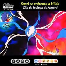 Animatoons - Saori se enfrenta a Hilda   SaintSeiya   Facebook