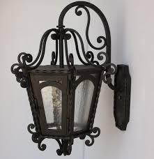 spanish revival lighting. 7030-1 Spanish Revival Wrought Iron Lantern Lighting