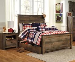 plain design ashley furniture full size bedroom sets gorgeous trinell b446 panel bed with trundle kids