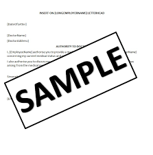 Pregnancy Letter From Doctor Template Sample Certificate Of Non