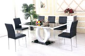 dining tables small glass dining table set black kitchen sets round room and chairs image on