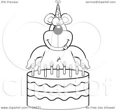 Small Picture No Birthday Cake Coloring Page CandlesBirthdayPrintable Coloring