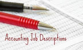 Payroll Accounting Job Description Accounting Clerk Job Description Sample