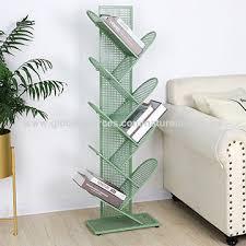china 8 shelf tree shaped bookshelf metal bookcase display shelves storage rack for
