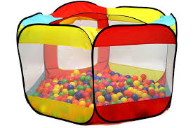 1 kiddey ball pit play tent