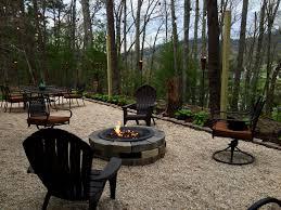 captivating pea gravel fire pit for your outdoor decor ideas ideas pea gravel driveway