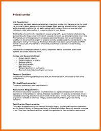 11+ phlebotomist resume | credit letter sample