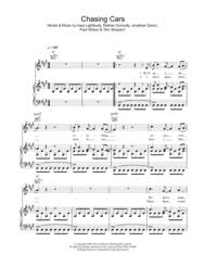 These notes can be used to play the song on many instruments including the keyboard, flute, recorder and piano. Song Download Chasing Cars Wiredfasr